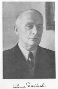 Portret van Tadeusz Mańkowski (1878-1956)