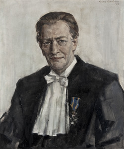 Portret van Hendrik Wilm Lambers (1916-2004)