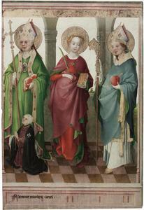 HH. Ambrosius, Cecilia en Augustinus