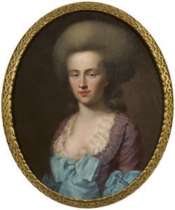 Portret van Clara Franciska von Merode (1760-1825)