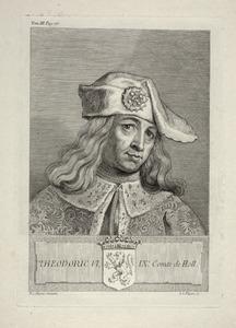 Portret van Dirk VI van Holland (1109-1157)