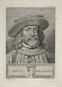Portret van Jan II van Henegouwen (1248-1304)