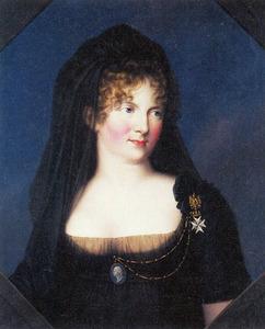 Portret van Sophia Maria Dorothea Augusta Louisa van Wurtemberg als tsarina-weduwe Maria Feodorowna van Rusland (1759-1828)