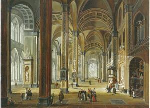 Interieur van een kathedraal uit de renaissance