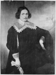 Portret van een man, waarschijnlijk Cornelis Claesz. Hooghtwoud (1622-1670)