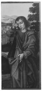 De H. Johannes de Evangelist  (fragment van een kruisiging)