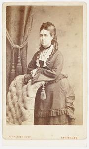 Portret van Alida de Roever (1854-1877)