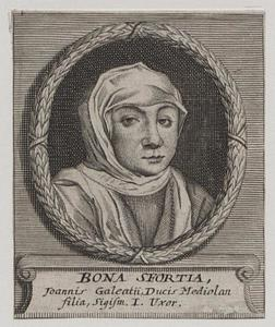 Portret van Bona Sforza (1494-1557), koningin van Polen