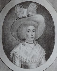Portret van Johanna Maria van Steeland (1758-1809)
