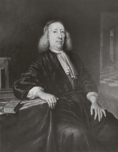 Portret van Joannes Vollenhove (1631-1708)