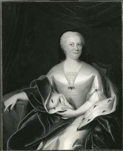 Portret van Maria Louise van Hessen-Kassel