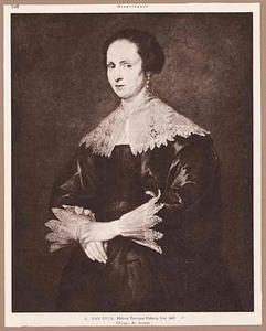 Portret van Helena Elants Tromper (?-1645), echtgenote van de schilder Hendrick du Bois (?-1646)