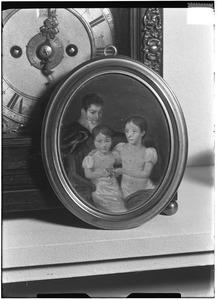 Familieportret, mogelijk de kinderen van Abraham Kuvel (1757-1832)