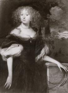 Portret van Margaretha Barbara de Sandra (1651-1679)