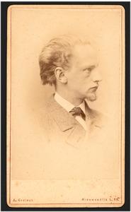 Portret van Geo Poggenbeek (1853-1903)
