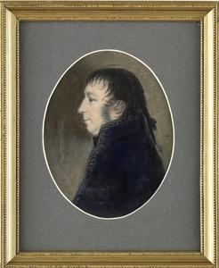 Portret van Albert Kikkert (1762-1819)