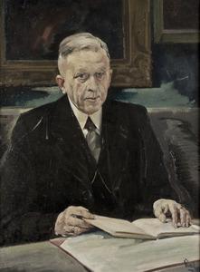 Portret van Zeger Willem Sneller (1882-1950)