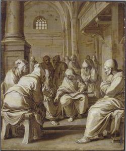 De twaalfjarige Jezus bij de schriftgeleerden in de tempel