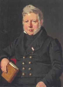 Portret van professor P.O. Brøndsted (1780-1842)