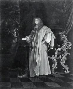 Portret van Robert Paston (1631-1683), first Earl of Yarmouth