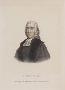 Portret van Nicolaas Hoogvliet (1729-1777)