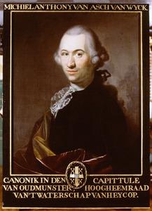 Portret van Michiel Anthony van Asch van Wijck (1742-1804)