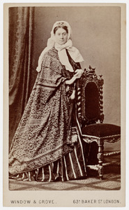 Portret van Alexandrine Pieternella Francoise Tinne (1835-1869)