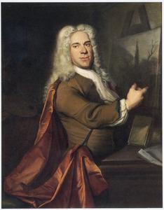 Portret van Jacob Campo Weyerman (1677-1747)