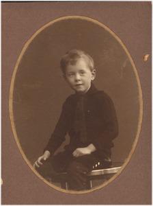 Jeugdportret van de schilder George Hendrik Breitner (1857-1923)