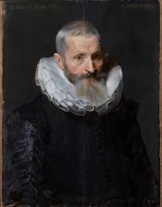 Portret van een onbekende 60-jarige man