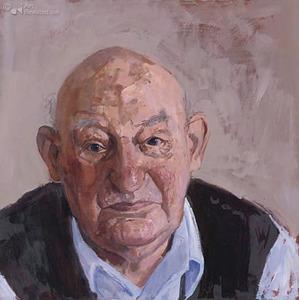 Portret van de heer Homminga