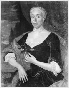 Portret van een vrouw, waarschijnlijk Maria Jacoba van Goor (1687-1737)