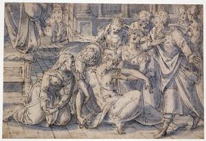 De zelfmoord van Lucretia (Fasti 2:725-852; Livius 1:57-59)
