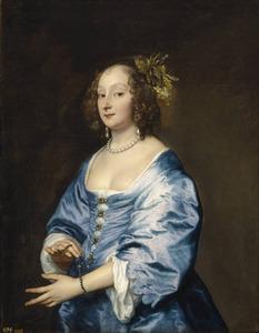 Portret van Mary Ruthven, Lady van Dyck (?-1645)