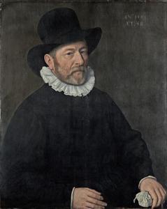 Portret van een 58-jarige man