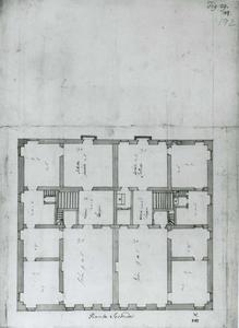 Palazzo Cattaneo Adorno: Plan van de hoofdverdieping