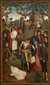De gerechtigheid van keizer Otto III: de onthoofding van de onschuldige