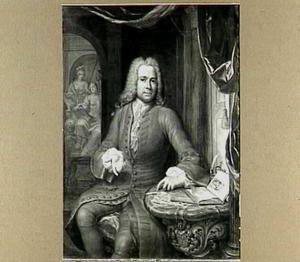 Portret van Petrus Cunaeus (1706-1763)