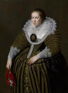 Portret van een vrouw, mogelijk Emerentia van Ravenswaay (?-1634)
