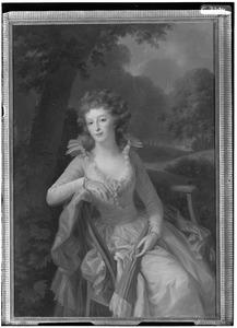 Portret van Jacoba Margaretha Maria Boreel ( -1816)