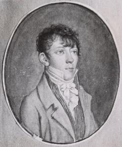 Portret van Jean George Amede Maritz (1784-1839)