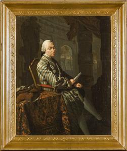 Portret van Tjaard van Aylva (1712-1757)