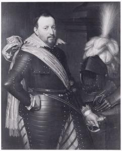 Portret van een man, mogelijk Adolf van Meetkerken ( -1625)