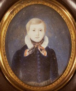 Portret van Bernhardus Jouke Buma (1835-1874)