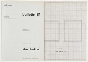 Art & Project Bulletin #81
