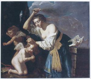Venus straft Cupido