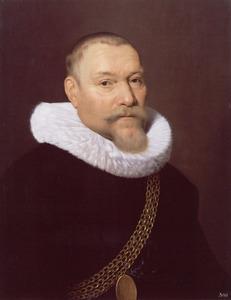 Portret van Hendrik Cornelisz. Loncke (1568-1638)