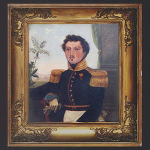 Portret van  Cornelis Albert de Brauw (1809-1862)
