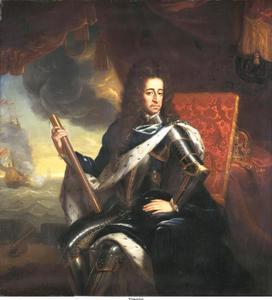 Portret van stahdouder-koning Willem III van Oranje-Nassau (1650-1702)