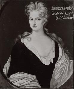 Portret van Louise Charlotte zu Dohna -Schlobitten (1688-1737)